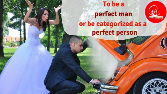 To Be a Perfect Man or Be Categorized as a Perfect Person